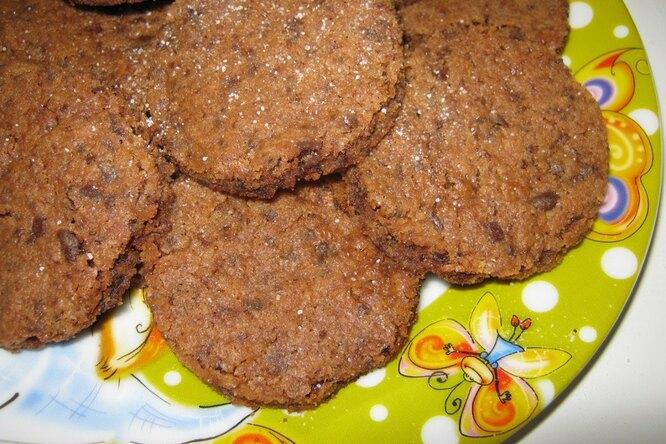 Cупер-пупер-мега вкусное шоколадное печенье