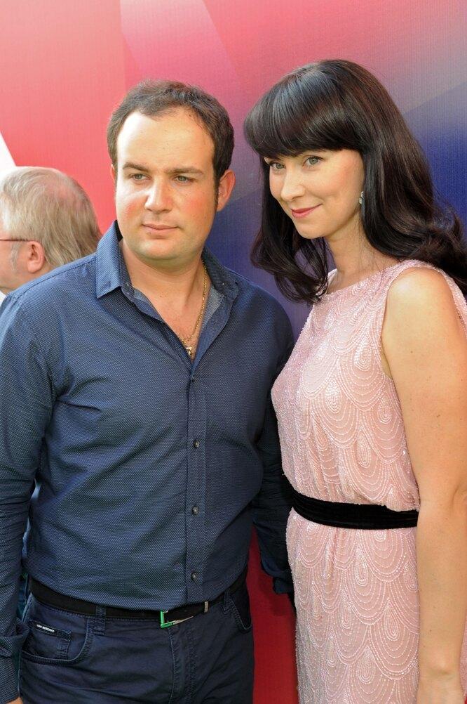 с мужем Александром Нестеровым