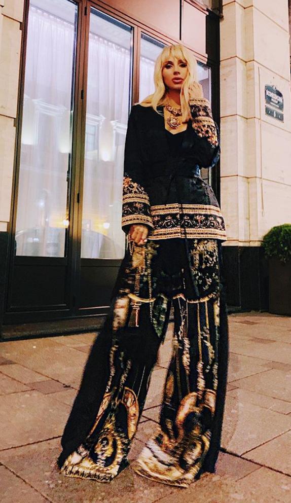 Светлана Лобода в брюках палаццо