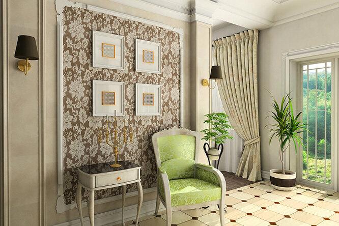 Интерьер зала вклассическом стиле: отличные варианты дизайна