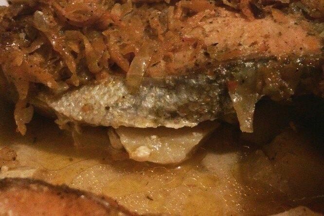 Рыбка под маринадом
