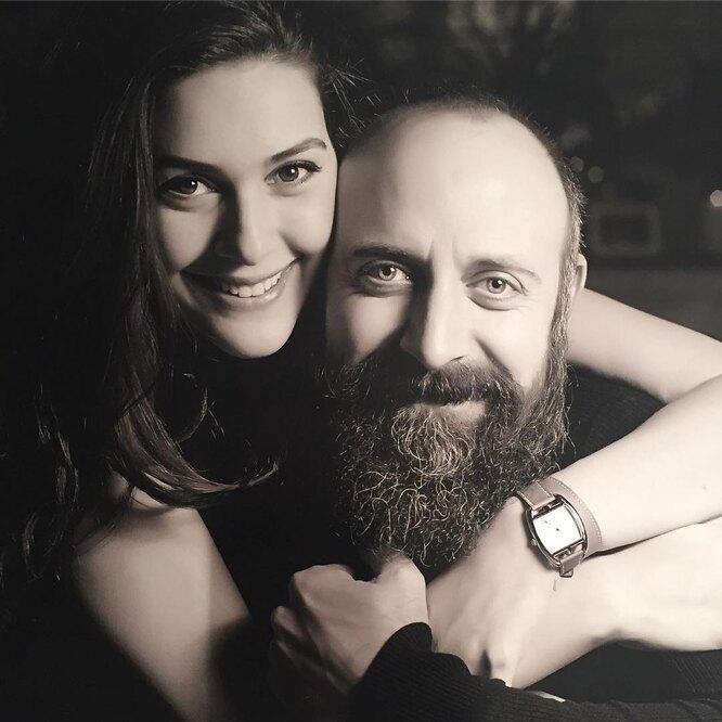 Халит Эргенч с женой фото