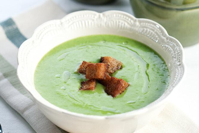 Щавелевый суп - пюре