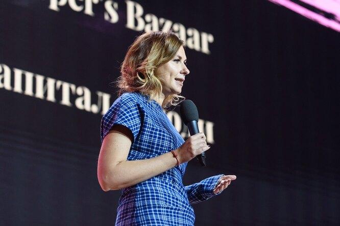 Дарья Веледеева, главный редактор Harper's Bazaar