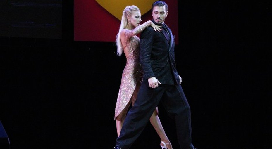 Российский танцор ударил жену после выступления наЧемпионате мира