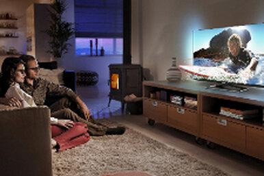 Компания TP Vision представляет новые Smart-телевизоры Philips всверхтонком корпусе безрамки