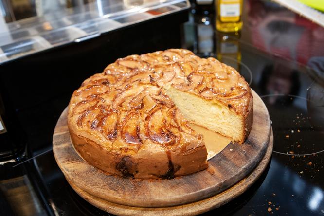 Рецепт великолепного тосканского яблочного пирога соливковым маслом