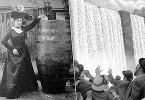 История учительницы, которая бросилась с Ниагарского водопада ради славы