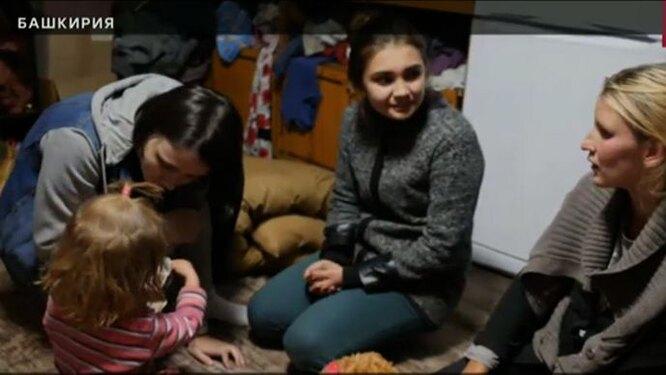 Соня с волонтерами