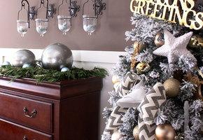 Новогодние украшения своими руками: пятнадцать отличных идей