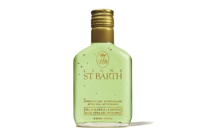 Гель c экстрактом алоэ, с экстрактом и маслом мяты Aloe Vera, Ligne St. Barth