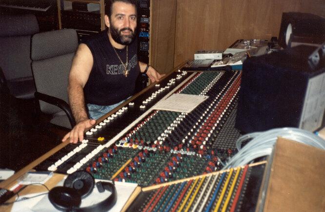 В студии Wild Cat, 1986 г.