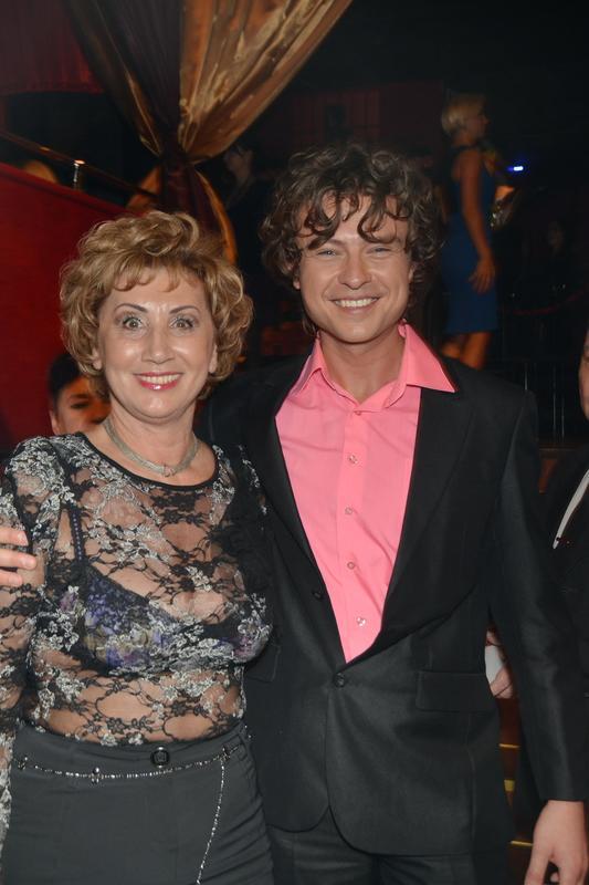 Лариса Копенкина с Прохором Шаляпиным фото