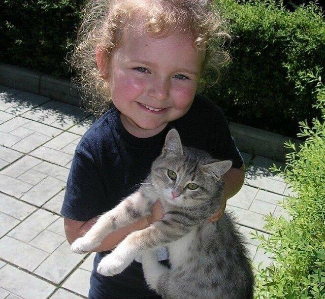 Стефания Маликова в детстве