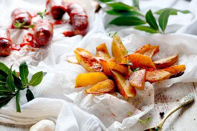 А мы ине знали: попробуйте пожарить картошку славрушкой – вы удивитесь!