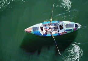 «Умоляла акулу уплыть»: женщина в одиночку проплыла 4000 км на лодке с веслами