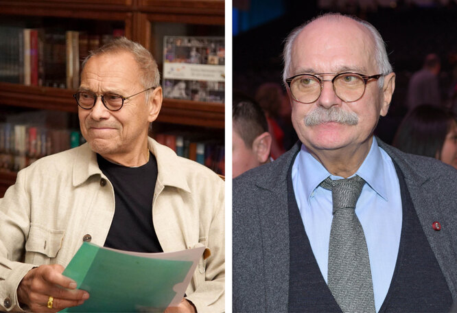 Никита Михалков и Андрей Кончаловский
