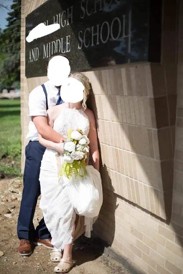 кроксы, обувь для свадьбы, свадебная обувь, свадебные туфли
