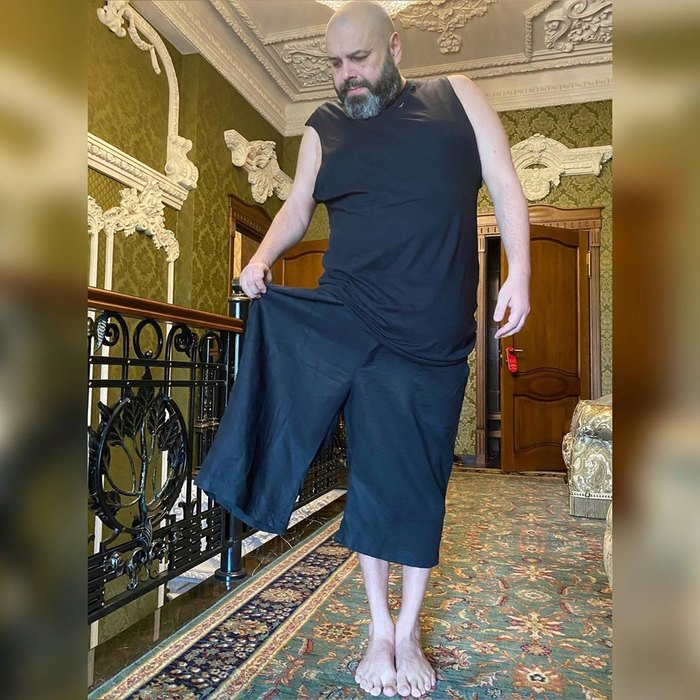 Максим Фадеев экстремально похудел