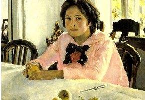 Третьяковка «оживила» картину «Девочка с персиками»