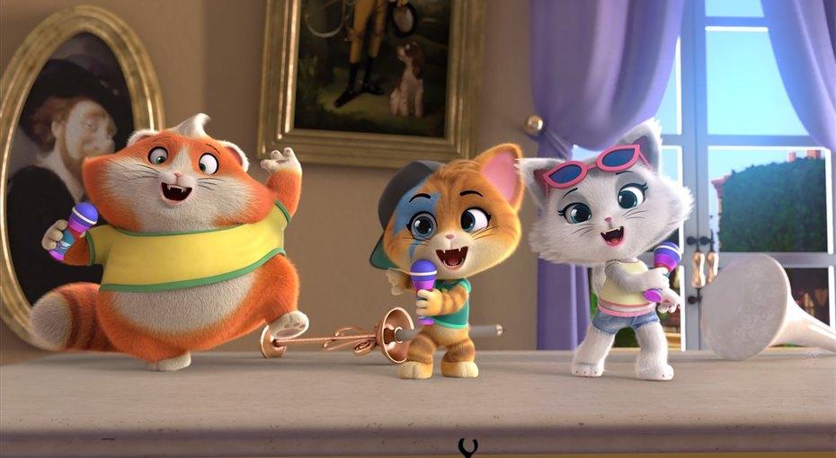 Новое анимационное шоу «44 котенка» выйдет впрокат вконце августа