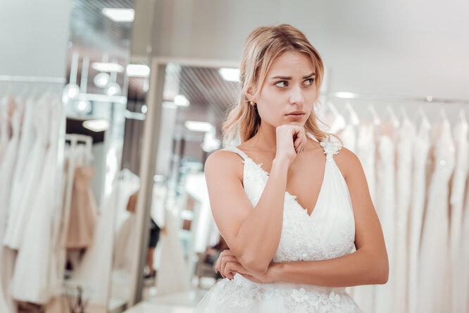Ожидание иреальность: невеста пришла вужас отплатья, заказанного онлайн