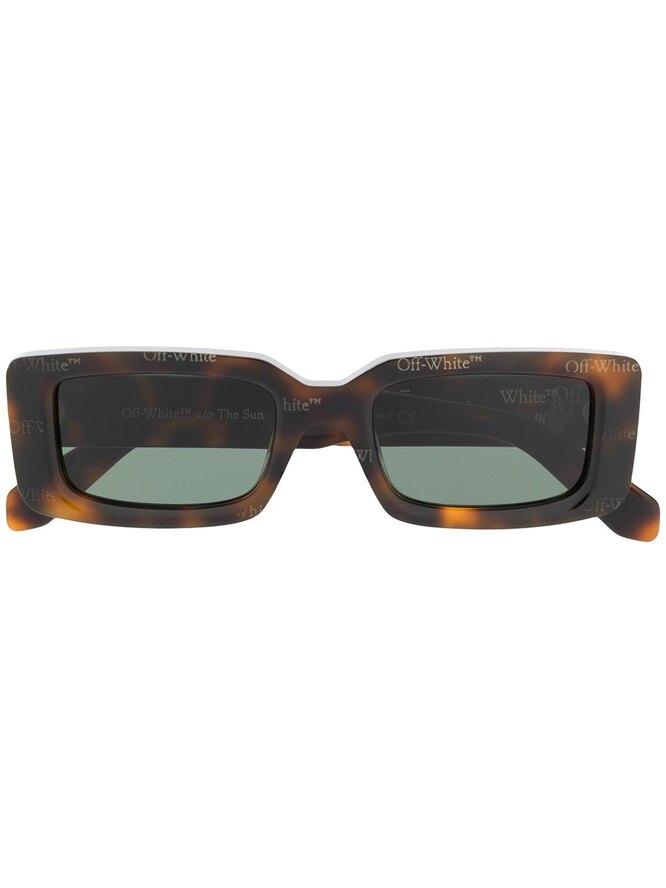 Солнцезащитные очки в квадратной оправе, Off-White, 19 365 руб