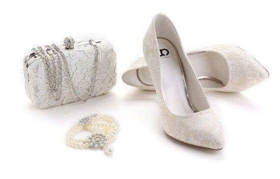 свадебная коллекция обуви и аксессуаров