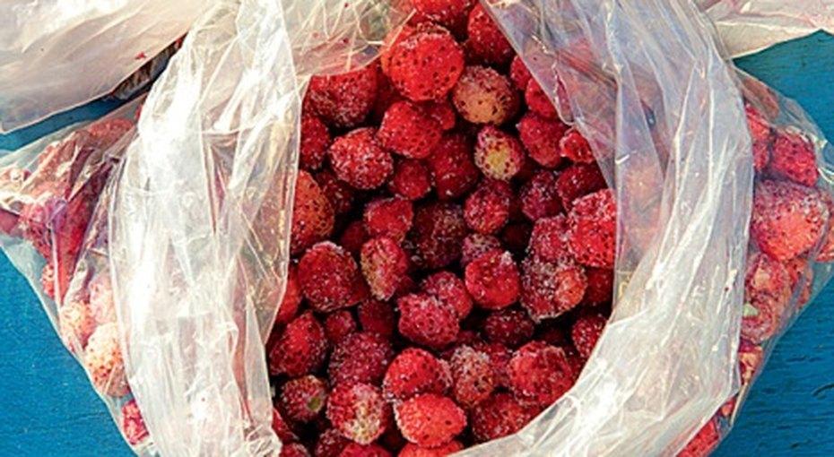 Как правильно заморозить летние ягоды?