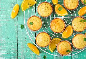 Апельсиновые кексы без белой муки
