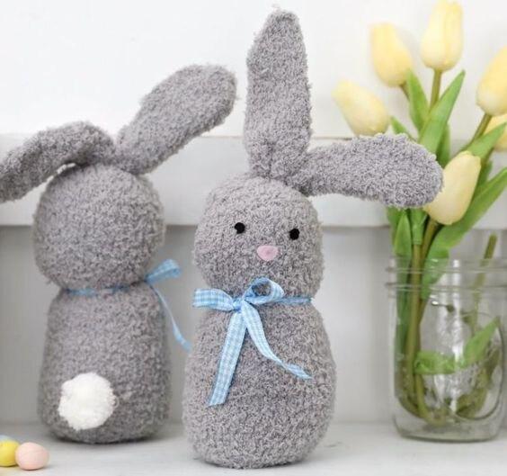 кролик из носка