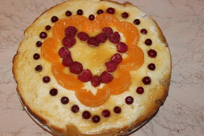 Пирог с творогом «Любимый»