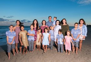 Как вырастить 16 детей и не превратиться в «клушу»: откровения многодетной мамы