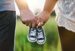 Бесплодная пара похудела более чем на 180 кг на двоих, чтобы родить ребёнка