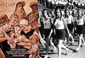 Безупречные жены Третьего Рейха: как нацисты воспитывали девочек
