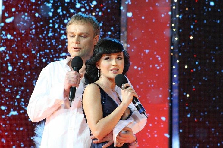 Сергей Жигунов иАнастасия Заворотнюк в2006 году