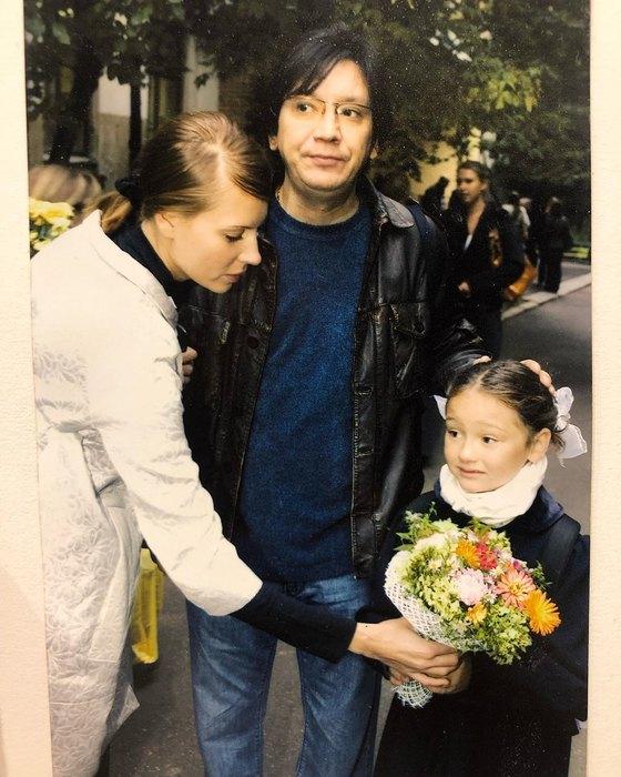 Любовь Толкалина иЕгор Кончаловский сдочерью Марией