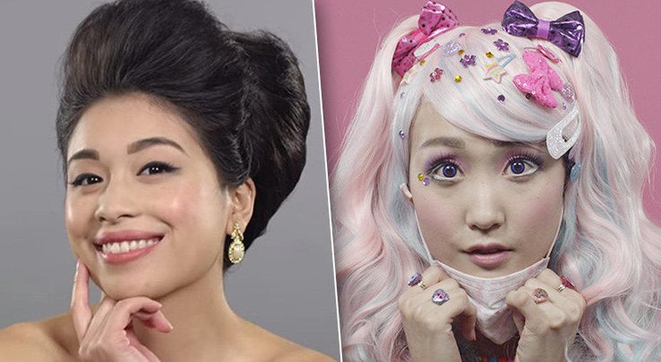 Как менялись стандарты красоты за100 лет встранах Азии иИндии