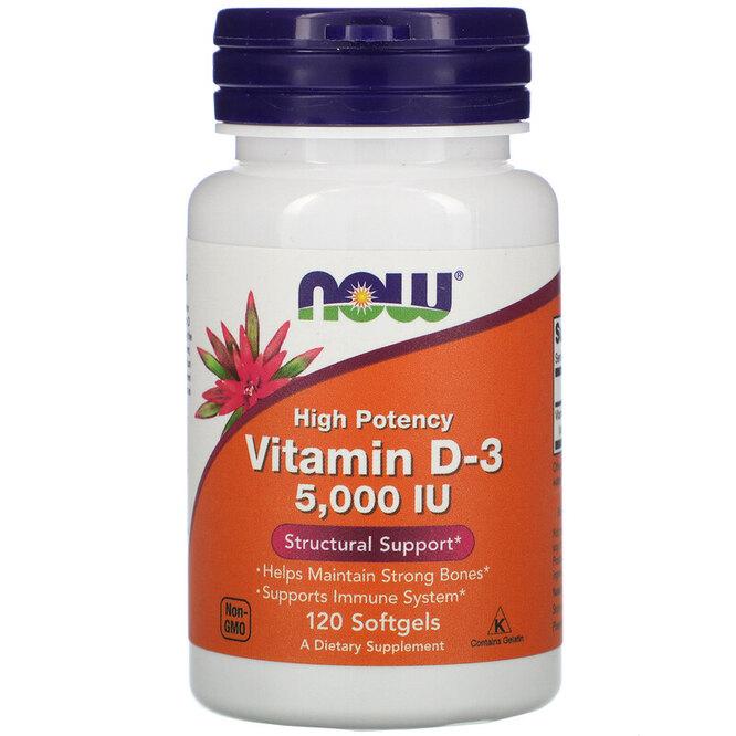 Высокоактивный витамин D3, Now Foods, 506 руб