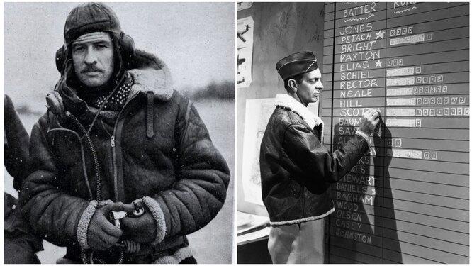 Лесли Ирвин создатель пилотной куртки; американский пилот 1945