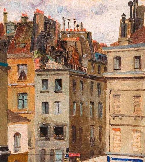 Елена Поленова «Крыши Парижа»