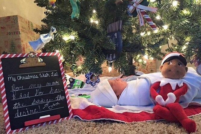 Сестры устроили сюрприз брату на Рождество