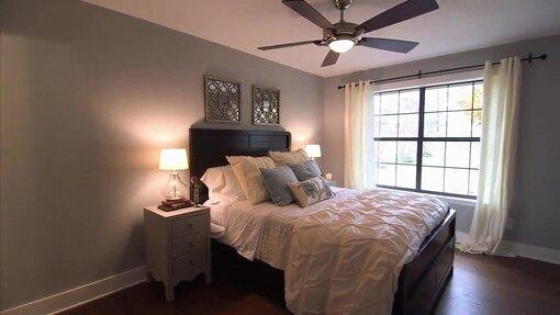 Спальня после переделки