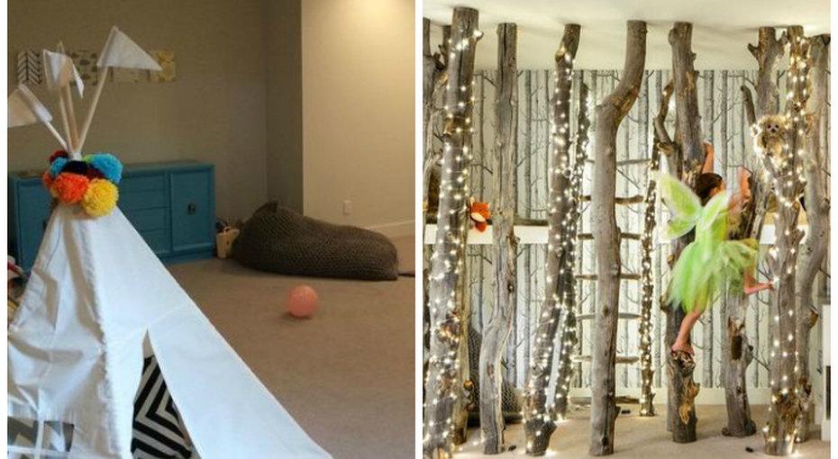 Как обычный подвал превратился в волшебную игровую комнату