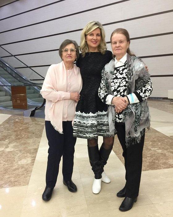 Эмма Малинина, Клавдия Залукаева, Ангелина Выгузова