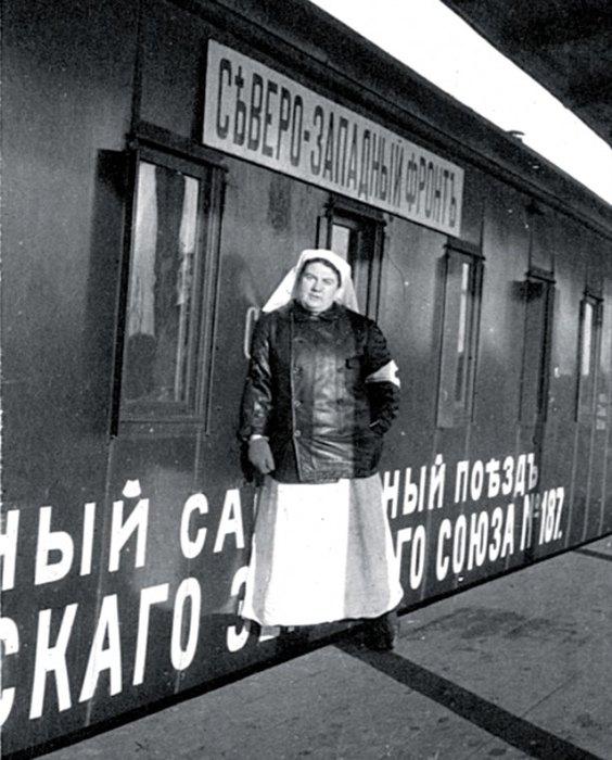 Медсестра Александра Толстая наСеверо-Западном фронте