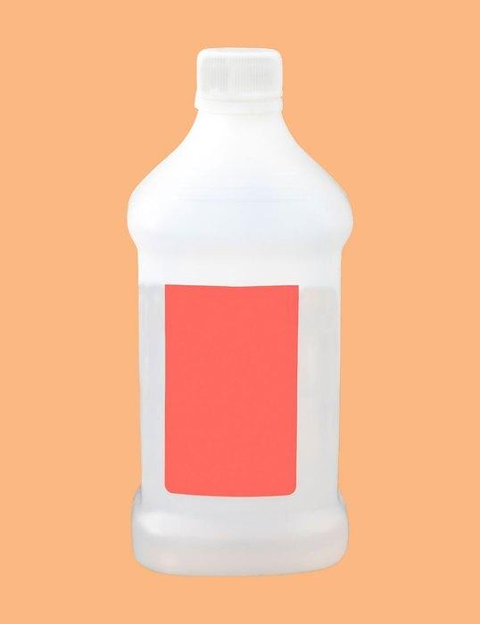 бутылка со спиртом