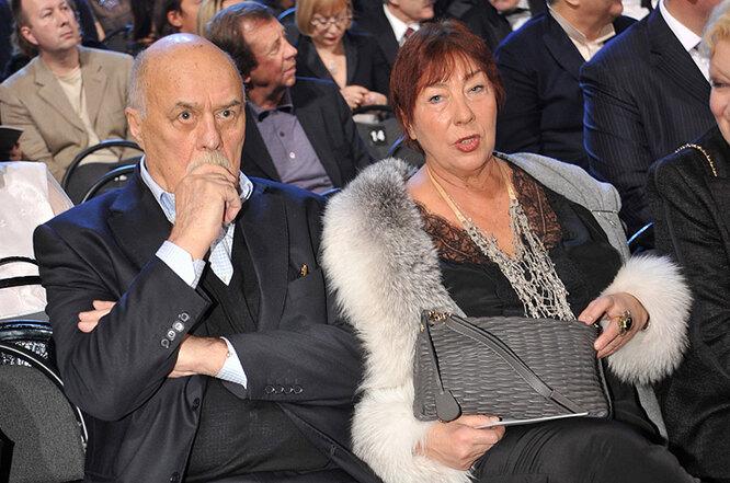 С супругой Галиной