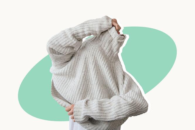 Сел свитер после стирки? Ему ещё можно вернуть форму!