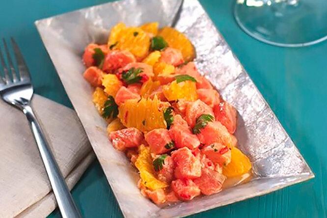 Севиче из лосося